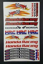 Honda Woody Aufkleber blatt Laminiert 19 stickers HRC cbr 1000rr 600rr racing