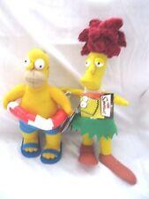 Homer Simpson Wearing Swim Suite&Swimming Tube+Sideshow Bob Soft Stuffed Toys