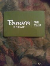 Panera * Used Collectible Gift Card NO VALUE * FD66495