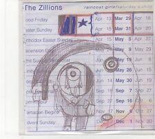 (FD192) The Zillions, Raincoat Girls - DJ CD