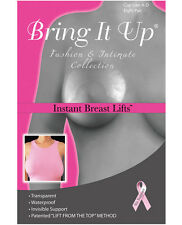 Bring it up breast lifts shapers plus size DD Cup Invisible Support 3 pair pack