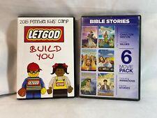 Bible Stories 6 pack & LetGod Build You 2015 Kid's Camp Week 4 Activities