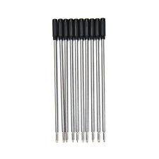 10 X Top  Cross Type Ballpoint Pen Refills ink medium & black