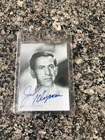 2000 Rittenhouse signed Twilight Zone Autograph A-43 Jack Klugman Odd Couple