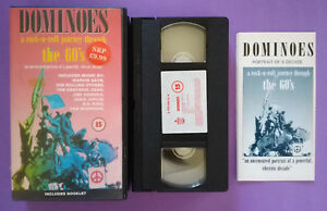VHS Film Eng Musicale DOMINOES A A Rock-N-Roll Journey Through the 60's (V20)