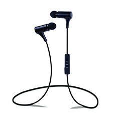 New Bluetooth V4.0 Wireless(Light Hi-Fi)Stereo In-Ear Earbud Headphones with Mic