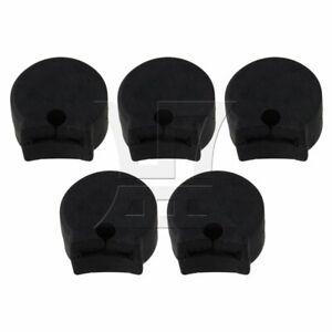 Clarinet Thumb Rest Cushion Guard Set of 5 Black