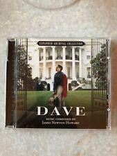 Dave CD Limited Edition James Newton Howard
