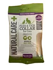 New listing Exp 3/2023 Natural Care+ Repels Flea & Tick Collar For Cats, 4 Months, 0.8oz