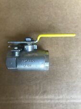 """Apollo 1"""" Stainless Steel FNPT x FNPT Ball Valve With Locking Lever 76-105-27A"""