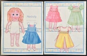 Melody Paper Doll by Anne Donze, Mag. PD. 2011