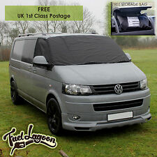 VW Transporter Van T5  Window Screen Cover Wrap Frost Black Out Blind Camping