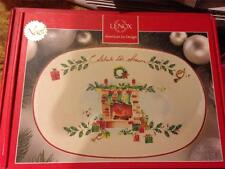 "Lenox Christmas 10.5""  Celebrate the Seasons Tray  NIB"