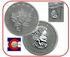 2016 Canada Panda Privy Maple Leaf 1oz Silver Canadian Coin