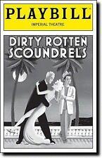 Playbill Dirty Rotten Scoundrels Norbert Leo Butz Sherie Rene Scott  Lucie Arnaz