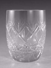 "WHITEFRIARS Glass - GARLAND Cut - Tumbler Glass / Glasses - 3 1/2"""