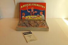 1930's Magical Chemistry Set J. Pressman & Co.  New York- Unopened