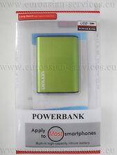 NUOVO * Powerbank * dinlion * 5000mah * USB * Caricamento * mobile batteria slice ✔ ✔ ✔ LED ACCESSORI ✔★ VERDE-GREEN