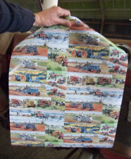 Classic / Vintage Tractor Gift Wrap Paper, illustrated by Steven Binks
