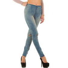 Hosengröße 40 Normalgröße Damen-Jeans im Jeggings -/Stretch-Stil