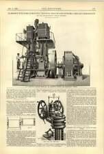 TUBO ACQUA 1893 Zell CALDAIA Chicago Hammond Williams DINAMO MOTORE VERTICALE