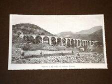 Linea ferroviaria Cuneo Ventimiglia Tronco Cuneo Limone Viadotto 15 Rivoira