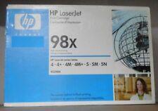 Original HP 98X Toner 92298X black schwarz für LaserJet 4 4+ 4M 5 5M 5N OVP A