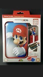 Mario Essential Pack for Nintendo 3DS - Mario case/Stylus/2 cartridge case