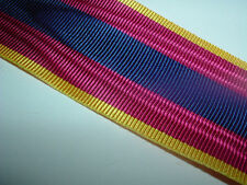 MEDAL RIBBON-GOOD QUALITY FRENCH/FRANCE NATIONAL DEFENCE MEDAL 1st CLASS RIBBON