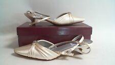 New Dyeables Wedding Shoe - Ivory Satin (Dyed) - Willow - US 9B UK 7 #32R335