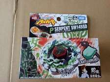 TAKARA TOMY Japanese BEYBLADE METAL FIGHT BB69 Poison Serpent SW145SD + launcher