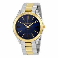 Michael Kors Women's MK3479 'Slim Runway' Two-Tone Stainless Steel Watch