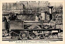 """CPA   Machine no 16 """"La Ville de St-Avold"""" á simple expansion et essieu (454684)"""