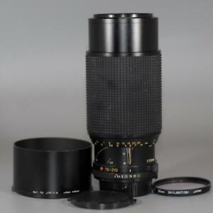 Minolta 70-210mm f4 MD Macro Zoom lens w shade for X700 XD11 etc. - Nice Mint-!