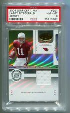 2004 Leaf Certified Larry Fitzgerald Jersey RC 821/1250 PSA 8 NM-MT