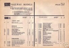 Peco Price List - June 1977