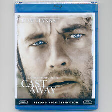 Cast Away 2000 PG-13 island survival movie, new Blu-ray Tom Hanks, Helen Hunt