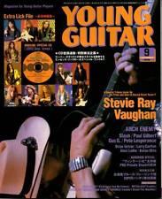 Young Guitar Sep/03 SRV Ray Vaughan Slash Harem Scarem Arch Enemy Gus
