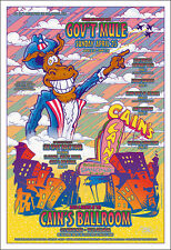 Gov'T Mule Leon Russell Cain's Ballroom Original Tulsa 04 Concert Poster Signed