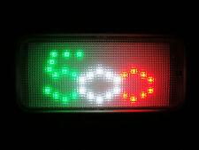 LED AUTO interno abitacolo FIAT 500 tricolore