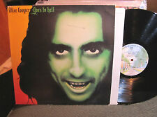 ALICE COOPER GOES TO HELL 1976 LP WARNER BROS. BS 2896 palm labels JAM stamp !!