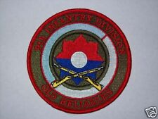 US ARMY 9th INFANTRY DIVISION COMMEMORATIVE PATCH