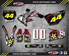 Honda CRF 250 - 2004 2005 Full Custom Graphic Kit GRAFFITI Style sticker kit