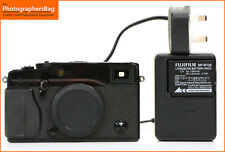 Fuji X-Pro 1 16MP Appareil Photo Numérique Corps Batterie & Chargeur + Gratuit UK Envoi