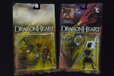 DRAGONHEART: BOWEN & FELTON ACTION FIGURES - 1995 - KENNER - MOC