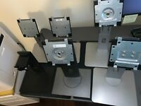 Bundle of 6 Dell monitor base stands S2415 U2415 P2317 E2421HS