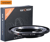 K&F Concept Lens Adapter for Nikon Nikkor F/AI Lens to Canon EOS EF EF-S Cameras