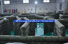 60x40x4 Commercial Inflatable Laser Tag Obstacle Course Maze Paintball Game