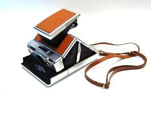 Near Mint Polaroid SX-70 Alpha 1 Camera w/Strap & IB - Film Tested & Guaranteed