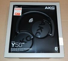 New - AKG by Harman - Wireless on-ear Headphones with Mic - Bluetooth / Wired